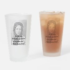 Stowe - Superstitious Drinking Glass