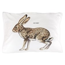 Jack Rabbit Pillow Case