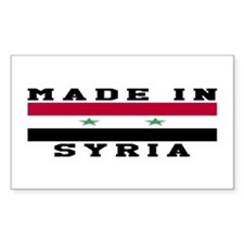 Syria Made In Decal
