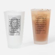 Stowe - Ranks of Life Drinking Glass