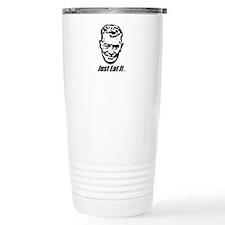 Euell Gibbons will eat it. Travel Mug
