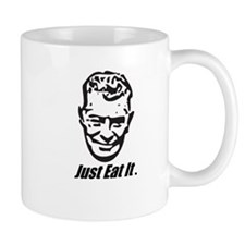 Euell Gibbons will eat it. Small Mug