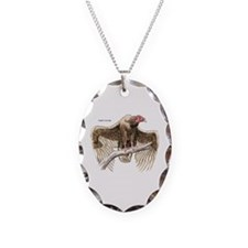 Turkey Vulture Bird Necklace