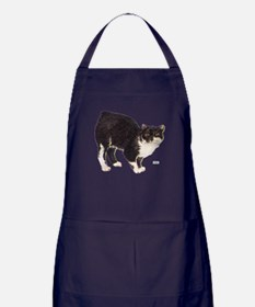 Manx Cat Apron (dark)