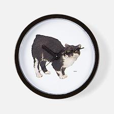 Manx Cat Wall Clock