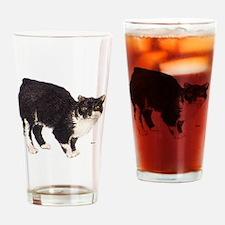 Manx Cat Drinking Glass