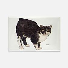 Manx Cat Rectangle Magnet
