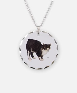 Manx Cat Necklace