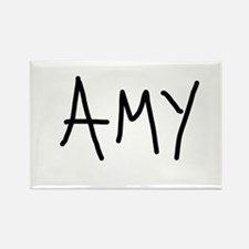 amy Rectangle Magnet