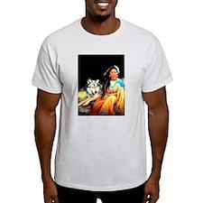 Wolfgirl Ash Grey T-Shirt