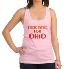 Utica Shale Pro-Fracking Women's Racerback Top
