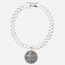 Wonder Is The Seed Of Knowledge - Bacon Bracelet