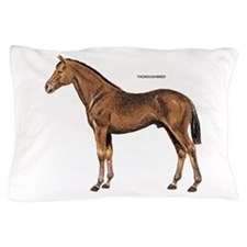 Thoroughbred Horse Pillow Case