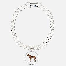 Thoroughbred Horse Bracelet