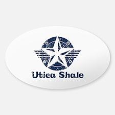 Utica Shale Pro-Fracking Sticker (Oval 10 pk)