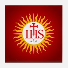 Jesuit Tile Coaster