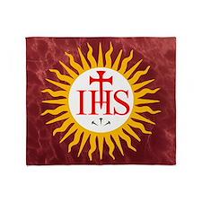 Jesuit Throw Blanket