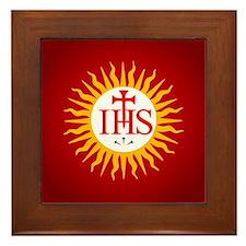 Jesuit Framed Tile