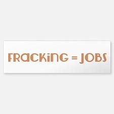 Pro-Fracking Sticker (Bumper 10 pack)