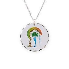 Gaea Necklace Circle Charm