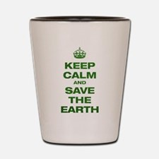 Keep Calm Shot Glass