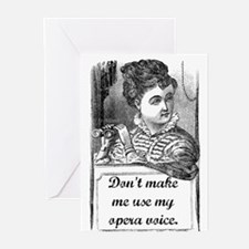 Opera Voice Greeting Cards (Pk of 10)