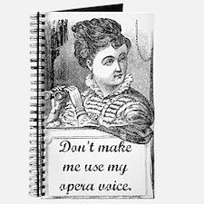 Opera Voice Journal