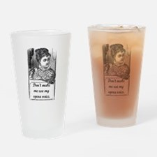 Opera Voice Drinking Glass