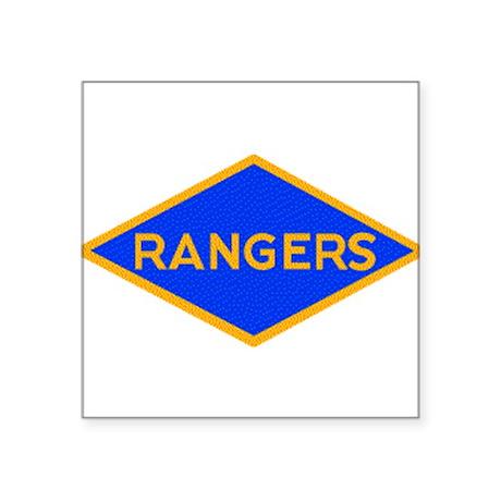 Ranger Diamond WWII Rectangle Sticker