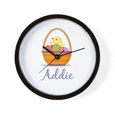 Easter Basket Addie Wall Clock