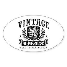 Vintage 1942 Decal