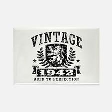 Vintage 1942 Rectangle Magnet
