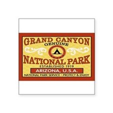 Grand Canyon National Park Rectangle Sticker