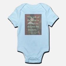 The Job Of The Artist - Bacon Infant Bodysuit
