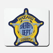 Hazard County Sheriff Mousepad
