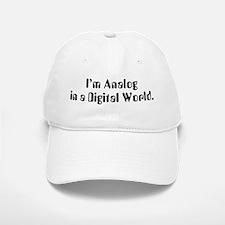 I'm Analog Baseball Baseball Cap