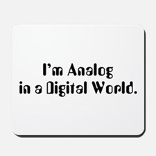 I'm Analog Mousepad