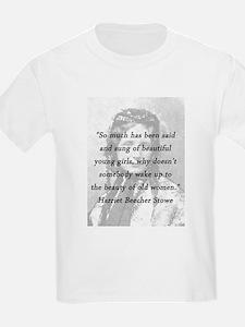 Stowe - Beauty of Old Women T-Shirt