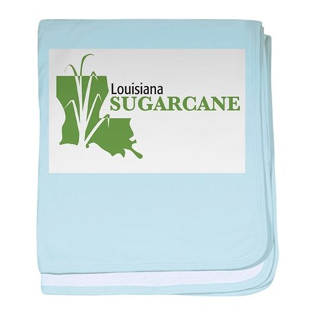 Louisiana Sugarcane baby blanket
