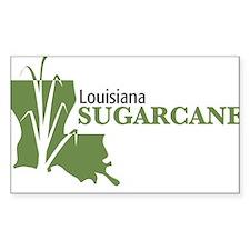 Louisiana Sugarcane Decal
