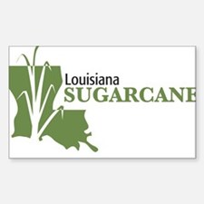Louisiana Sugarcane Decal