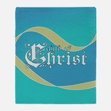 Child of Christ waves Throw Blanket