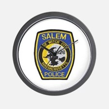 Salem Police Wall Clock