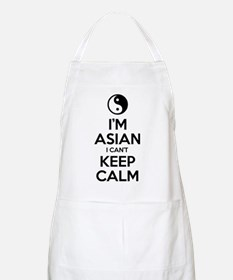 Im Asian I Cant Keep Calm Apron