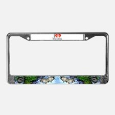 I fish Wisconsin License Plate Frame
