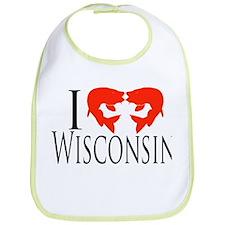 I fish Wisconsin Bib