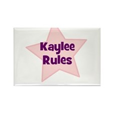 Kaylee Rules Rectangle Magnet