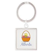 Easter Basket Alberta Keychains