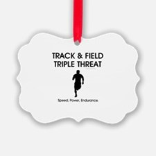 TOP Track and Field Ornament