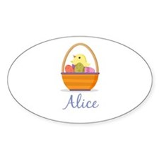 Easter Basket Alice Decal